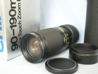 '   90-190mm  Cased Boxed MINT ' 90-190MM Chinon M42 Zoom Lens £14.99
